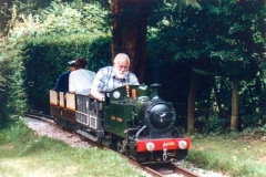 2165 at Bob Symes' Greendene Works Railway shortly after conversion to Burry Port appearance