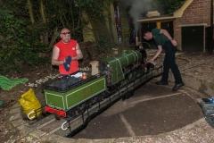 Locomotive preparation for Fete Day