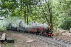 Triple header in steam