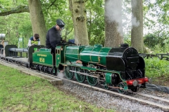 850 visiting from Eastleigh Lakeside Steam Railway