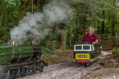 The Hymek on the move