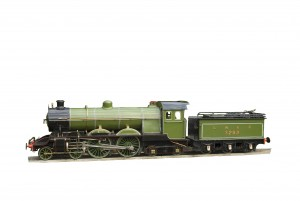 An early photograph of the steam locomotive 3292 known as John Terence